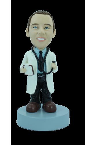 Figurine personnalisée en super docteur