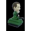 Figurine personnalisée dans un tank