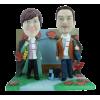 Figurine personnalisée décor Balade d'automne