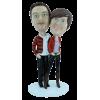Figurine personnalisée de couple Fashion