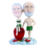 Figurine personnalisée Adam et Eve