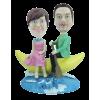 Figurine personnalisée balade en mer