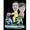 Figurine personnalisée en vélo