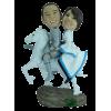 Figurine personnalisée en chevaliers
