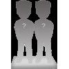 Couple 100% customizable bobbleheads