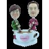Figurine personnalisée le café de l'amour