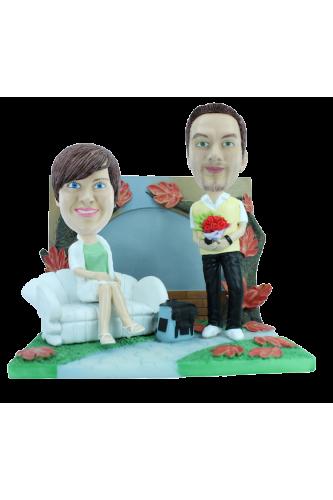 Figurine personnalisée automne
