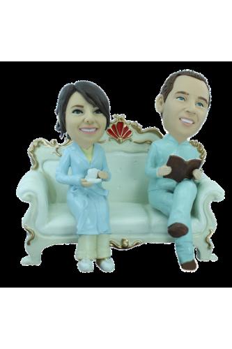 Figurine personnalisée canapé