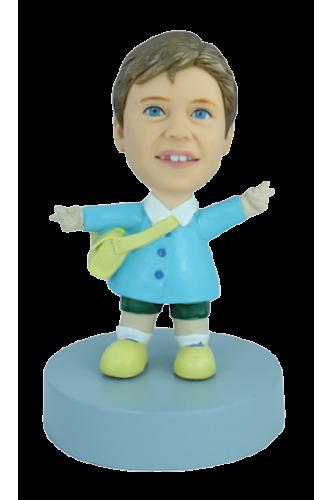 Figurine personnalisée en écolier