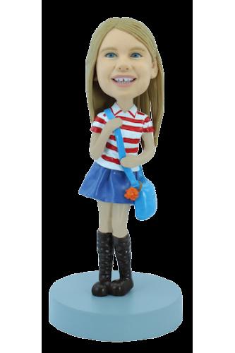 Figurine personnalisée adolescente