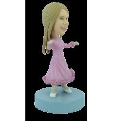Figurine personnalisée en princesse