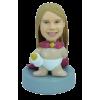 Figurine personnalisée bébé fille