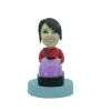 Figurine personnalisée auto tamponneuse