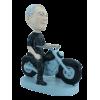 Figurine personnalisée avec moto