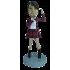 Figurine personnalisée chanteuse