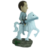 Figurine personnalisée en chevalier