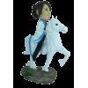 Figurine personnalisée chevalière
