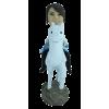 Figurine personnalisée en femme chevalier