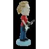 Figurine personnalisée en femme guitariste