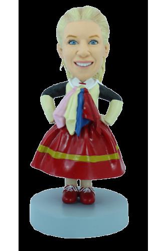 Figurine personnalisée flocklore
