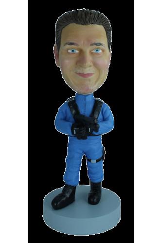 Figurine personnalisée en homme du futur