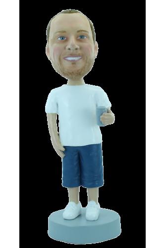 Figura personalizable Jugador de béisbol