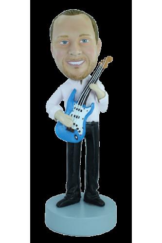 Figurine personnalisée joueur de guitarre