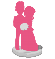 Figurina di matrimonio personalizzata (100%)