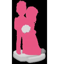 Figurine personnalisée de mariage (100%)