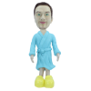 Figurine personnalisée en robe de chambre