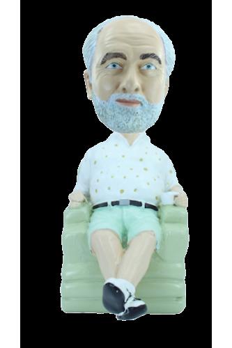 Figurine personnalisée avec fauteuil