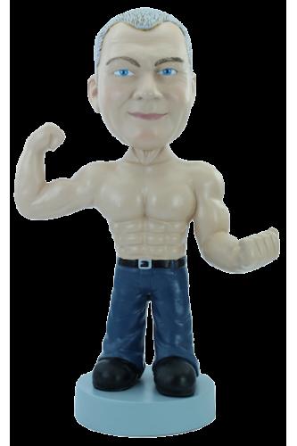 Figurine personnalisée Mr muscle