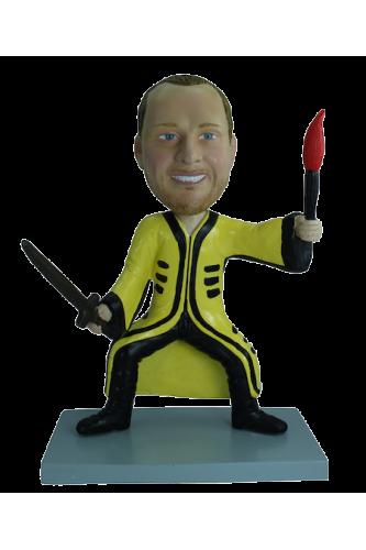 Figurine personnalisée peur de rien
