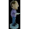 Figurine personnalisée avec plein de billets