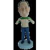 Figurine personnalisée avec abdos