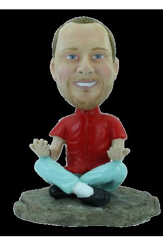 Figurine personnalisée de Yoga