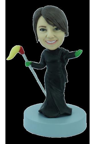 Figurine personnalisée en sorcière