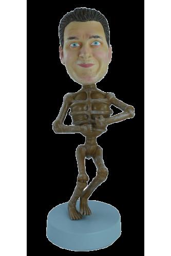 Figurine personnalisée en Squelette