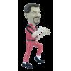 Figurine personnalisée Mickaël Jackson Thriller