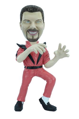 Figurine personnalisée en Mickaël Jackson