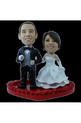 Figura personalizada de boda