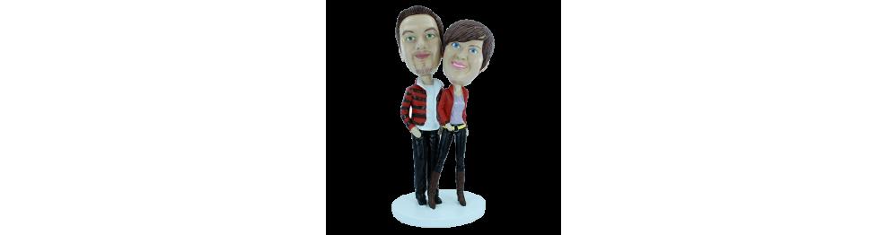 Paar Personalisierte Figur