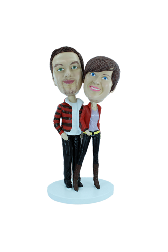 Couple custom bobbleheads