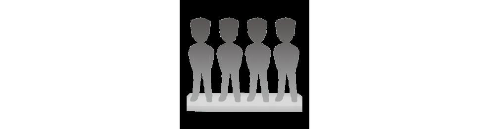 Figurine personnalisée 4 personnes