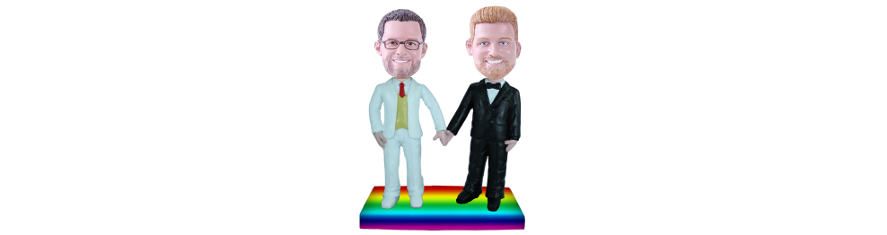 Figurines personnalisées Mariage Gay