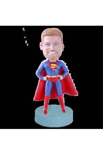 Super-hero custom bobblehead