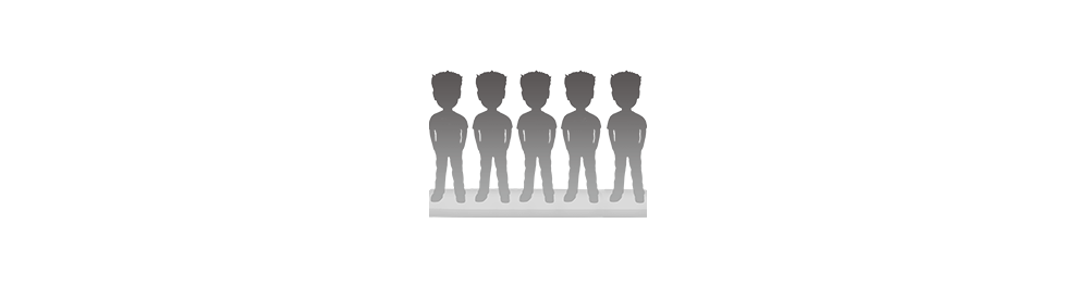 Figurine personnalisée 5 personnes